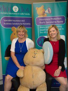 Jenny and Jackie Hyde of dot2dot nursery insurance