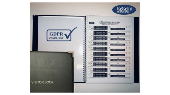 GDPR Compliant Visitor Book